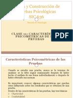 Clase 11 - Caracteristicas Psicometricas de Las Pruebas I