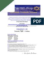 Parashat No 20 Adul