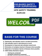 Behavior Based Safety 1