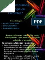 Como compramos tecnología en Colombia