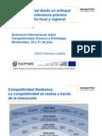 Competitividad Sistemica Como Herramienta