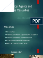 Chemical Agents and Mass Casualties