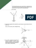 Probleme Mecanica Statica