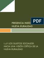 2-Luciano Concheiro-Violeta Núñez-Héctor Robles-Presencia Indigena y Nueva Ruralidad