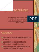 PROTOCOLO DE NICHD-Presentación