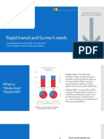Rapid Transit and Surrey's needs - Part 1