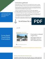 Rapid Transit and Surrey's needs - Part 2