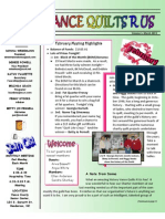 Newsletter Mar2013