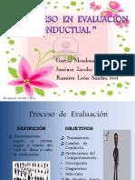 El Proceso en evaluación conductual