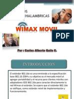 Protocolos Wimax Movil