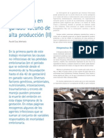 cys23_52-57 Mortalidad embrionaria en ganado vacuno de alta producción (II)