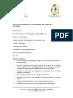 PROGRAMA Metodología de la Investigación Social 2013