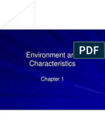 Chapter 01  environment and characteristics