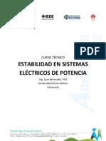 Estabilidad en los sistemas eléctricos de Potencia