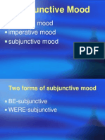 Lecture 7-Subjunctive Mood