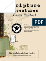 A FREE Easter Lapbook