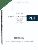 Mihail Ducas - Istoria Turco-bizantina, 1341-1462 (1958)