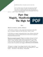 Magick Psychic Influence BHSC Seminar Notes (2001)