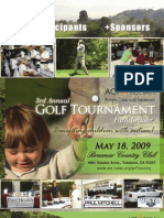 ACT Today! 3rd Annual Golf Tournament Fundraiser