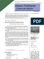 Coisas de História - Professor Ferdinando_ Renascimento Cultural e Científico