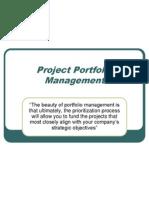 Wk 10 Portfolio Management