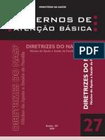 CAB nº 27 - Diretrizes do NASF