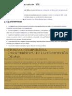 Constitución de Venezuela de 1830