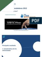 CADE Emprendedores 2012