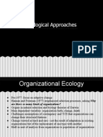 Ecological Approach to Organization Theory