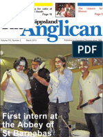 'The Gippsland Anglican' March 2013