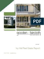 Mt Pleasant, SC - Ivy Hall Real Estate Report