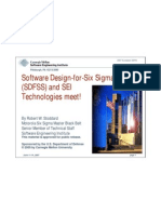 Software Designforsix Sigma Sdfss and Sei Technologies Meet4552