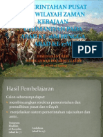 Pemerintahan Pusat Dan Wilayah Zaman Kerajaan Uthmaniyah Pada
