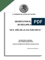 Ley Cultura Maya