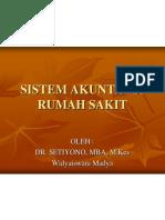 Sistem Akuntansi Rumah Sakit