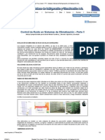 Control de Ruido en Sistemas de Climatización - Parte II