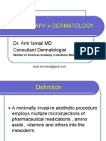 Mesotherapy in Dermatology