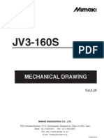 JV3-160S Mechanical Drawing