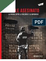 Doble Asesinato. La Prensa en México, entre la violencia y la impunidad