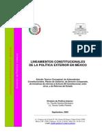 Antecedentes y Condiciones de La Politica Ext. de Mexico