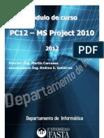 Curso Universidad FASTA - MS Project 2010