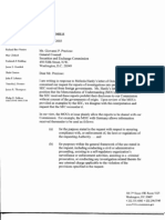 9/11 Commission Letter about Insider Trading Documents Withheld by SEC