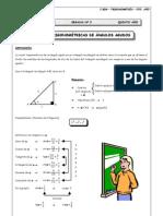 Guia 2 - Razones Trigonométricas de Ángulos Agudos