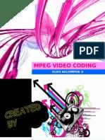 MPEG video  coding