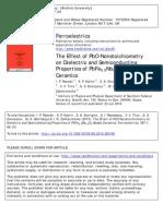 Effect of PbO-Nonstoichiometry
