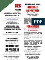 Annonces Du Pieu de Bruxelles 3-8