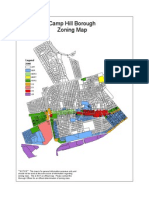 Camp Hill zoning map