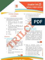 Solucionario UNI 2012-I Aptitud y Cultura