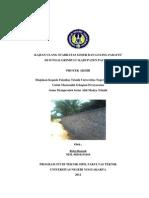 Kajian Ulang Stabilitas Geser Dan Guling Parafet Di Sungai g