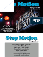Stop Motion Magazine April 2010 Issue1